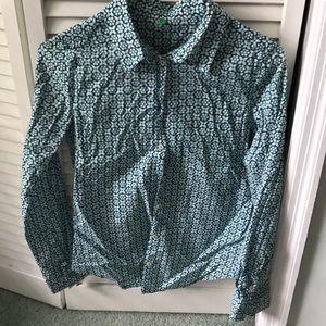 Benetton button down shirt